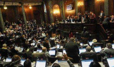 Legislatura trata paquete de remates inmobiliarios