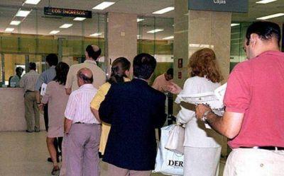 El miércoles no funcionarán las sucursales bancarias