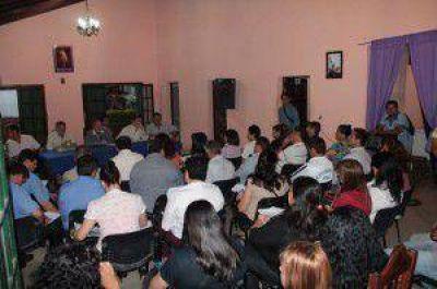 """""""Por nuestra gente, todo"""" en el barrio Mariano Moreno"""