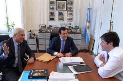 Abal Medina expresó el apoyo del Gobierno a la fórmula del Frente Cívico
