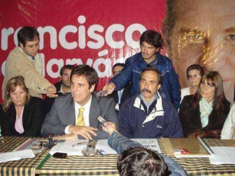 """Candidatos de Uni�n-Pro denuncian """"campa�a sucia"""" por supuesto """"enga�o electoral"""""""