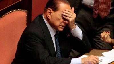 El Parlamento italiano votará el 27 la expulsión de Berlusconi