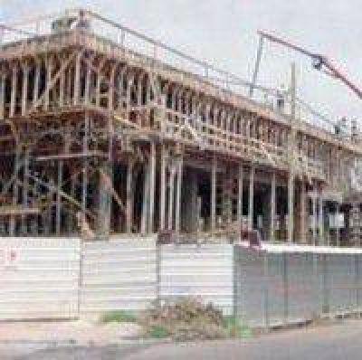 El nuevo edificio de Uader tiene un 60% de avance