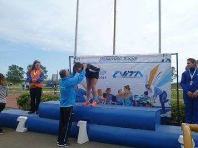 Abril Nain subió a lo más alto del podio de Mar del Plata