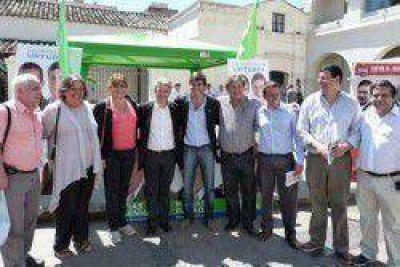 La Concertación-FORJA se reunió en Salta en apoyo a sus candidatos
