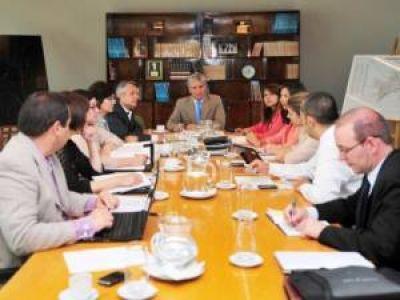 El Gobernador se reunió con el equipo económico