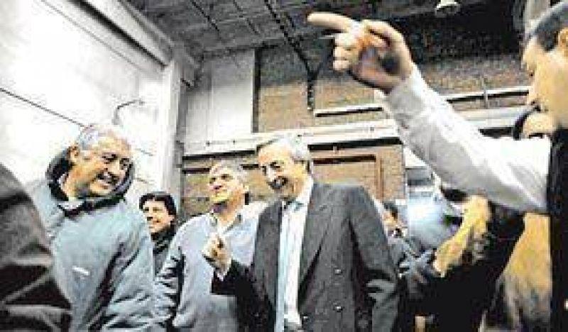 """Kirchner fue a la estatizada Massuh y reclam�: """"Cuidemos el modelo"""""""