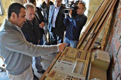 El Gobernador destacó la inversión para poner en funcionamiento L.U. 14