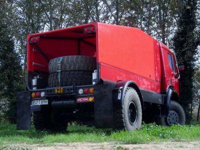 Andrés Germano exhibirá su camión para el Dakar en nuestra región