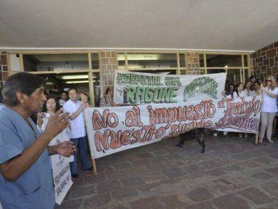 Médicos de la Interhospitalaria marcharon por sus reclamos