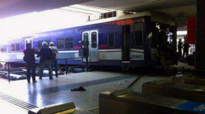 Este lunes har�n las pericias en el tren del Sarmiento