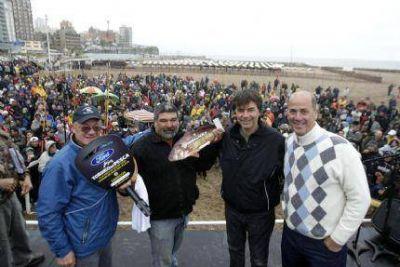 """Con más de 1.600 participantes, finalizó el Torneo de Pesca """"Ciudad de Mar del Plata"""""""