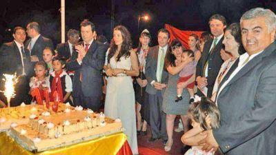 El gobernador Zamora inauguró obras en Avellaneda