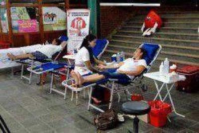 Más de 70 personas participaron en el Día del Donante Voluntario de Sangre