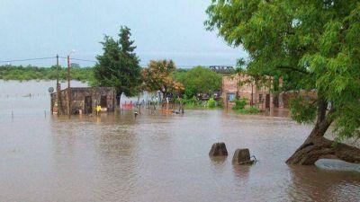 La Provincia dispuso asistencia para las localidades afectadas por las lluvias
