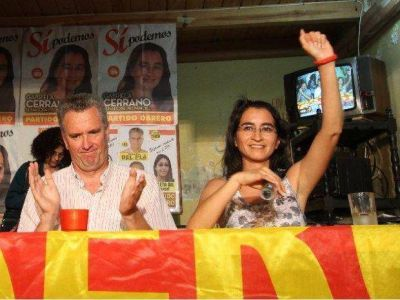 """Gabriela Cerrano: """"Hemos derrotado al aparato"""""""
