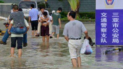 Haiyan deja al menos 9 muertos y 13 desaparecidos en China