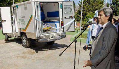 Uspallata cuenta con una ambulancia 4x4 para zonas de dificil acceso