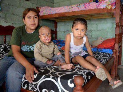 A los chicos quemados les dieron una casa precaria