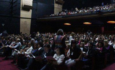 Autoridades marchiquitenses en el 1º Congreso Provincial de Formación Continua