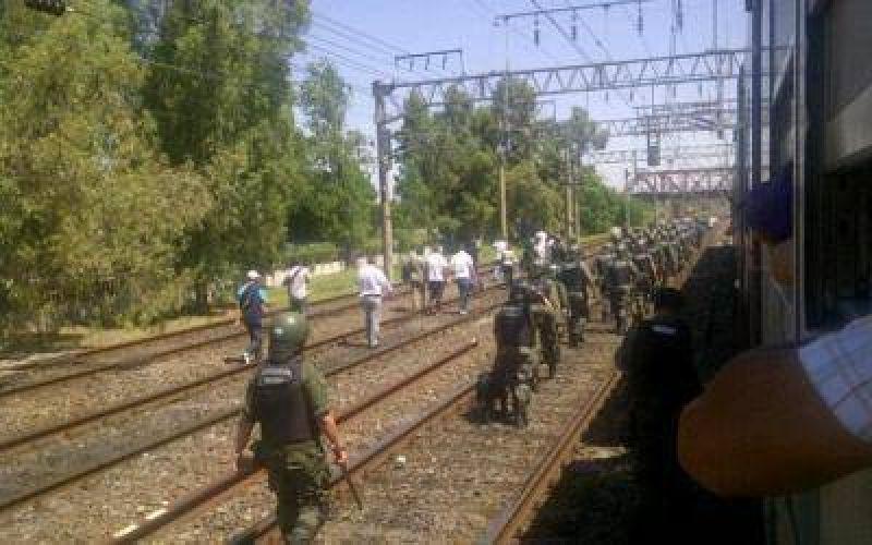 Tercerizados del Roca manifestaron en la estación Avellaneda