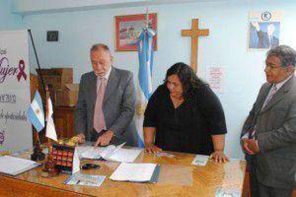 El Poder Judicial recibió un terreno para la construcción de dependencias en Humahuaca