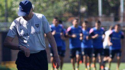 Sin Gago ni Orión, Bianchi piensa un Boca con Méndez y sin Paredes