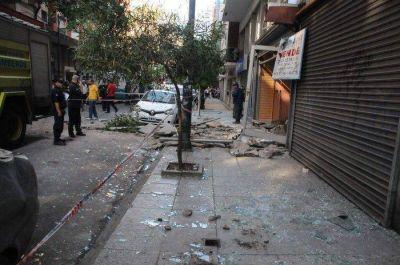 Explosión destrozó local en el centro