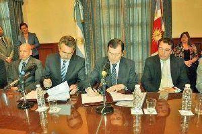 Entre Nación y la Provincia se firmó convenio para la instalación del IGN