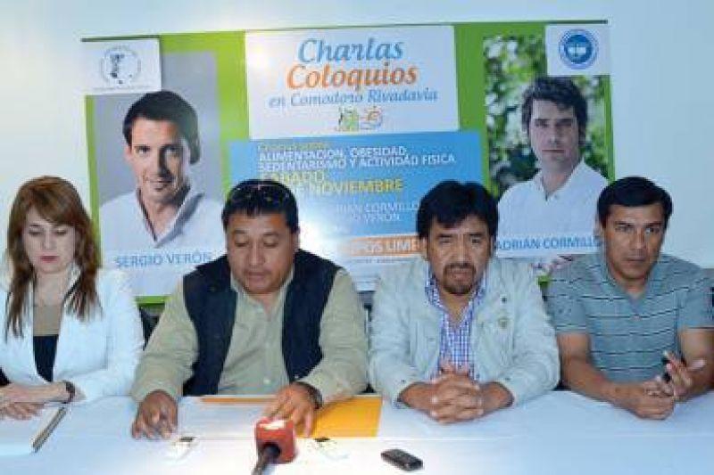 Los sindicatos petroleros traen a Cormillot y Verón para hablar de vida sana