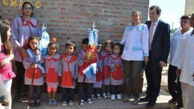 Inauguraron una planta potabilizadora de agua y un jardín de infantes