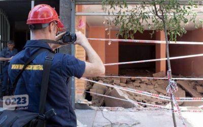 Explosión en el centro: así sigue la causa