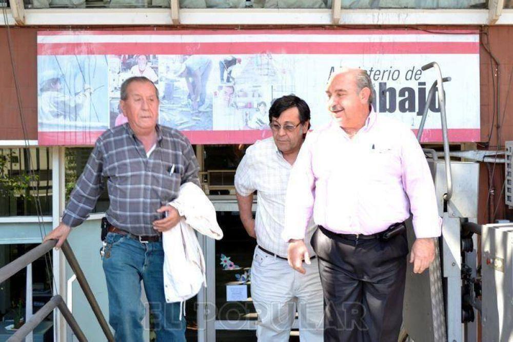 Sin Cuartango, sindicalistas se reunieron en el Ministerio bonaerense