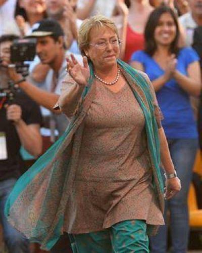 Bachelet, confiada en un triunfo holgado en primera vuelta