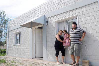 Primera experiencia vivienda social con ladrillos ecológicos