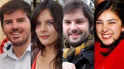 Cuatro ex dirigentes de los estudiantes resultaron electos
