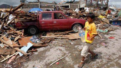 Filipinas: tres millones de niños fueron afectados por el tifón