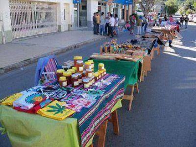 Feria Artesanal en la 25 de Mayo