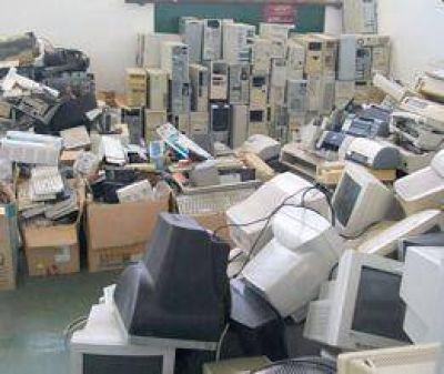 Campaña de residuos electrónicos