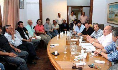 El Consorcio del Puerto y los sindicatos firmaron un acuerdo