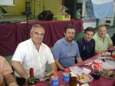 Acompañado por Amondarain, Celi realizó un almuerzo para los militantes del Frente Renovador