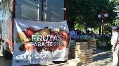 """El camión de """"Frutas para todos"""" estará el miércoles en Azul"""