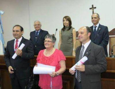 Los diputados electos recibieron sus diplomas