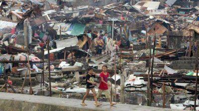 Filipinas: ya son más de 4.000 los muertos por el tifón Haiyan