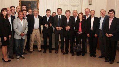 De Angeli se reencontró con Macri