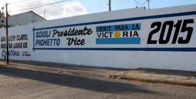"""Pintadas sobre Pichetto 2015 fueron """"una operación política en su contra"""""""