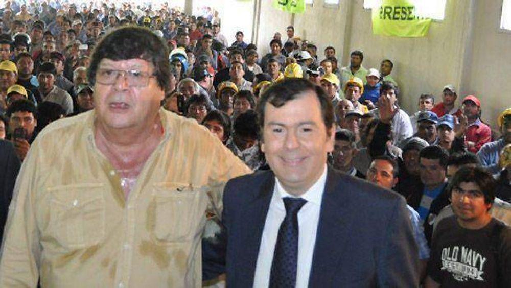 La UOCRA manifestó su respaldo a la fórmula del Frente Cívico