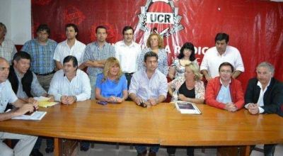 Avanza la unidad partidaria en la UCR
