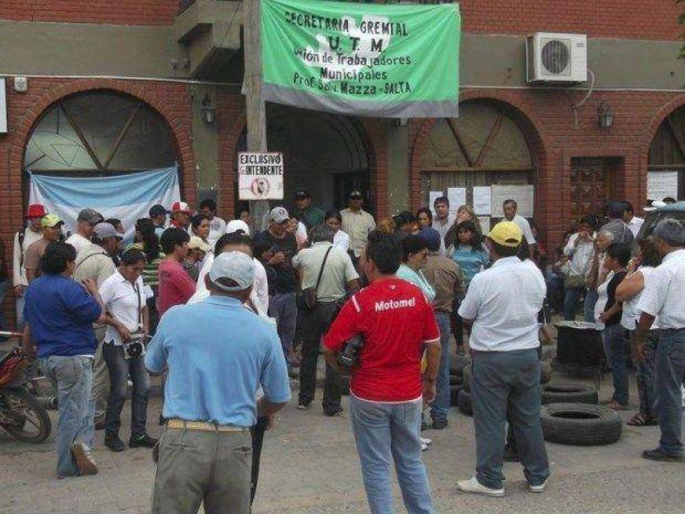 Tras la intervención, volvieron los retrasos de sueldos a Salvador Mazza