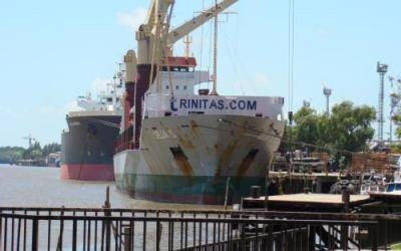 Paro en los puertos de Dock Sud, Buenos Aires, Z�rate y Campana